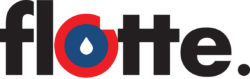 logo flotte noir